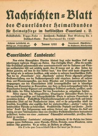 Nachrichtenblatt